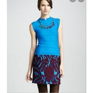 Nanette Lepore Lace Pencil Skirt